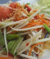 Spicy Green Papaya